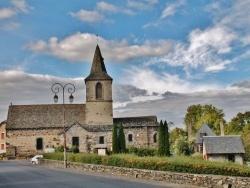 Photo paysage et monuments, Chalvignac - église St Martin