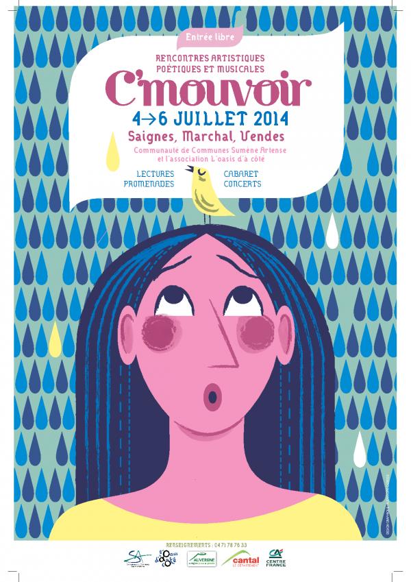 Affiche festival C'Mouvoir