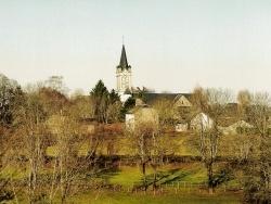 Photo paysage et monuments, Chaussenac - le bourg , vue générale