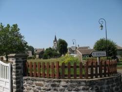 Photo paysage et monuments, Chaussenac - le bourg de chaussenac