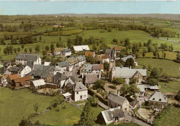Photo Chaussenac - Chaussenac.Carte postale ancienne