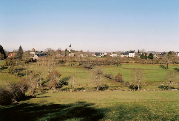 Photo Chaussenac - le bourg