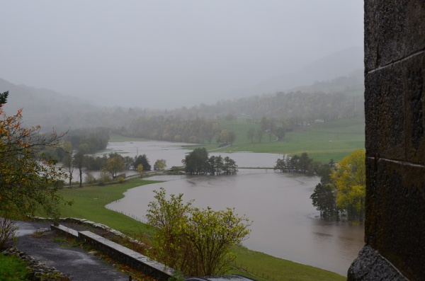 Vallée de Cheylade aprés la tempete Amélie