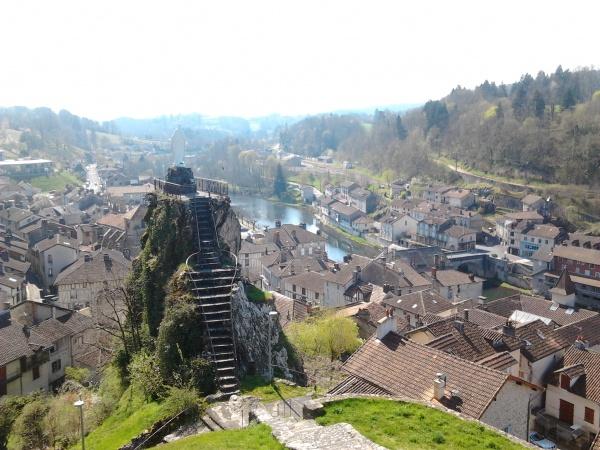 Photo Laroquebrou - Vue depuis le château