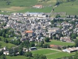 Photo paysage et monuments, Riom-ès-Montagnes - photo aérienne