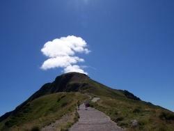 Photo paysage et monuments, Thiézac - Le Puy Mary toujours en activité ?.....