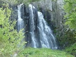 Photo paysage et monuments, Vèze - cascade de la terrisse commune de veze