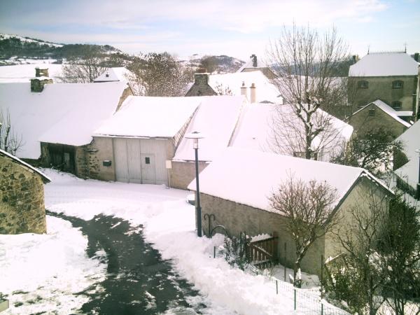 Photo Vèze - veze sous la neige