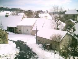 Photo paysage et monuments, Vèze - veze sous la neige