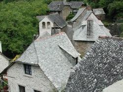 Photo paysage et monuments, Sénergues - Les toits de Montarnal