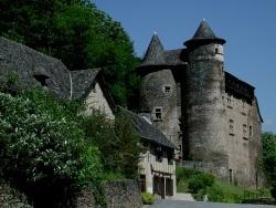 Photo paysage et monuments, Vieillevie - Château de Vieillevie