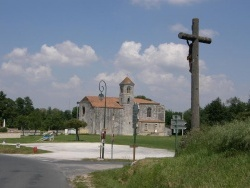 Photo paysage et monuments, Baignes-Sainte-Radegonde - Eglise