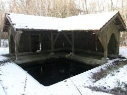 Photo paysage et monuments, Chantillac - Lavoir en hiver.