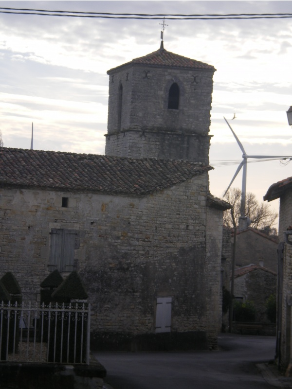 Photo Xambes - l'église Notre Dame de XAMBES