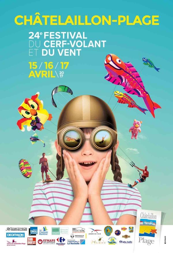 24ème Festival du Cerf-volant et du vent de Châtelaillon-Plage 2017