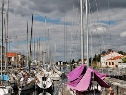 Photo paysage et monuments, Marans - Port de plaisance