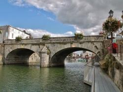 Photo paysage et monuments, Marans - Pont sur la Sèvre Niortaise