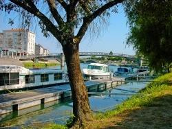 Photo paysage et monuments, Saintes - Au bord de la Charente