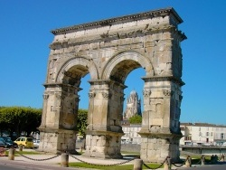 Photo paysage et monuments, Saintes - l'Arc de Germanicus - Saintes (17)