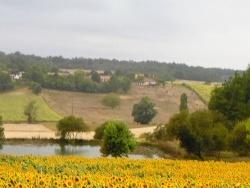 Photo paysage et monuments, Sousmoulins - entre la croix rouge et fontenard