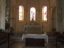 Photo paysage et monuments, Torteron - Interieure de l'église