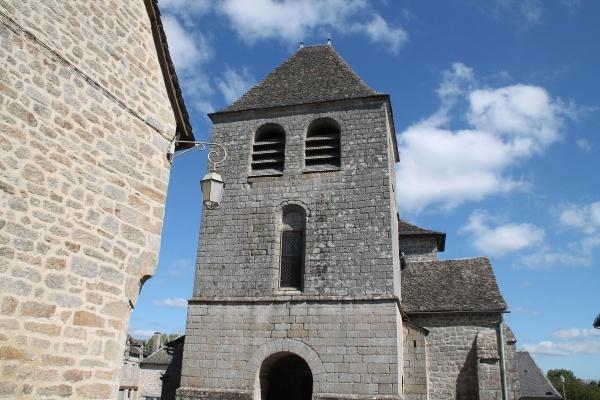 Photo Auriac - clocher St Côme st damien