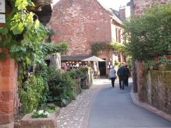 Photo paysage et monuments, Collonges-la-Rouge - Le Village