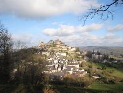 Photo paysage et monuments, Turenne - un jour d'hiver sous un beau soleil