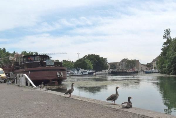 Photo Dijon - Port fluvial de Dijon.21.