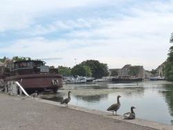 Photo paysage et monuments, Dijon - Port fluvial de Dijon.21.