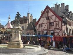 Photo paysage et monuments, Dijon - Dijon.21-Place François Rude.