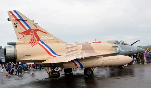 Dijon.21.Meeting aérien 9 Juillet 2017.Mirage 2000 hommage à G.Guynemer.