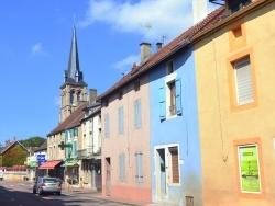 Photo paysage et monuments, Pouilly-en-Auxois - Pouilly en Auxois;Route principale.
