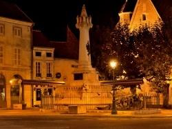 Photo paysage et monuments, Saint-Jean-de-Losne - Place de la délibération