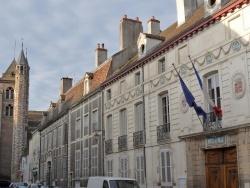 Photo paysage et monuments, Saint-Jean-de-Losne - Saint-Jean de Losne,centre-ville.