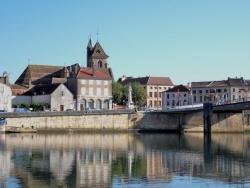 Photo paysage et monuments, Saint-Jean-de-Losne - Saint-Jean de Losne.La saône.