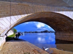 Photo paysage et monuments, Saint-Jean-de-Losne - Saint-Jean de Losne.La Saône.3.