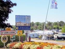 Photo paysage et monuments, Saint-Jean-de-Losne - Saint-Jean-de-Losne. 21. La gare d'eau.