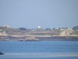 Photo paysage et monuments, Île-de-Bréhat - Bréhat - la chapelle st-michel vue du continent