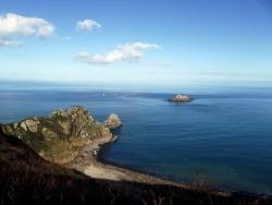 Photo paysage et monuments, Plouha - Plouha - Quand un bateau passe