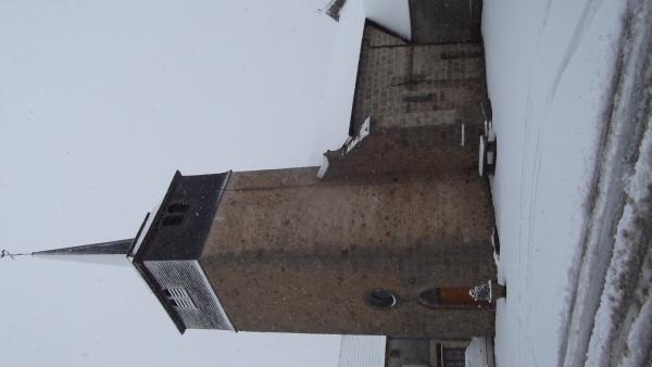 Photo Cressat - l'église restaurée