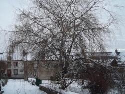 Photo paysage et monuments, Cressat - ballade dans le bourg sous la neige