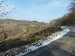 Photo paysage et monuments, Saint-Goussaud - février 2015 Neige après Redondesagne direction St Goussaud