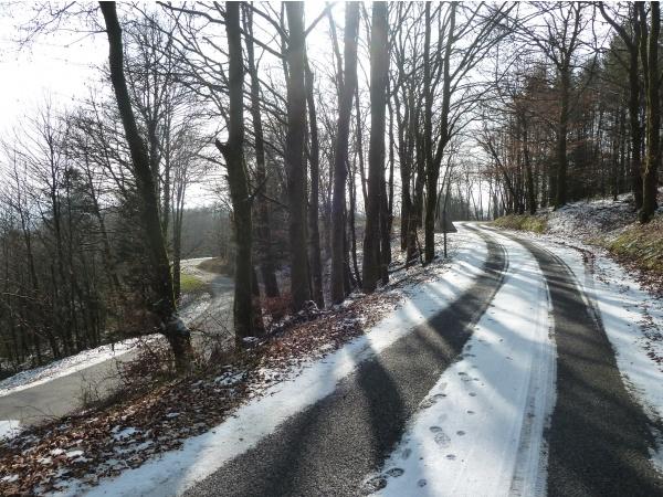 Photo Saint-Goussaud - février 2015 Neige après La Feyte direction St Goussaud