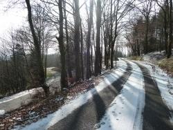 Photo paysage et monuments, Saint-Goussaud - février 2015 Neige après La Feyte direction St Goussaud