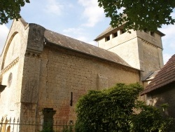 Photo paysage et monuments, Alles-sur-Dordogne - église St Etienne