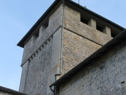 Photo paysage et monuments, Alles-sur-Dordogne - clocher église St etienne