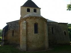 Photo paysage et monuments, Carsac-Aillac - Eglise Saint-Caprais de Carsac