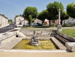 Photo paysage et monuments, Coutures - Fontaine et Lavoir