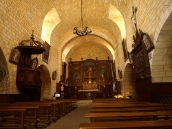 Photo paysage et monuments, Domme - Domme - Eglise Notre-Dame de l'Assomption -Nef